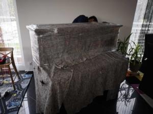 klaviertransport verpackung
